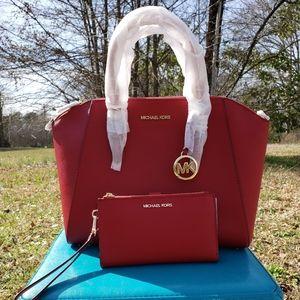 Michael kors large Ciara satchel and wallet